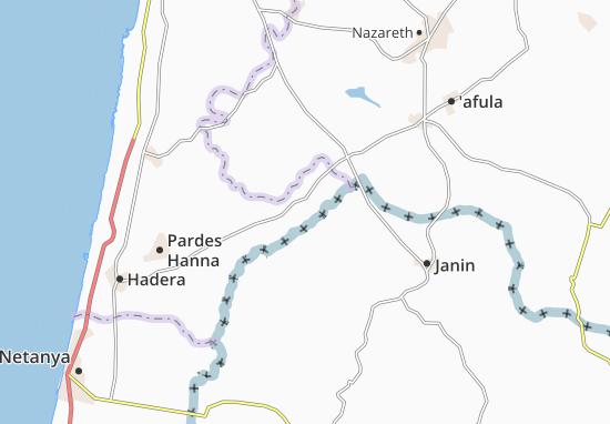 Umm El Fahm Map
