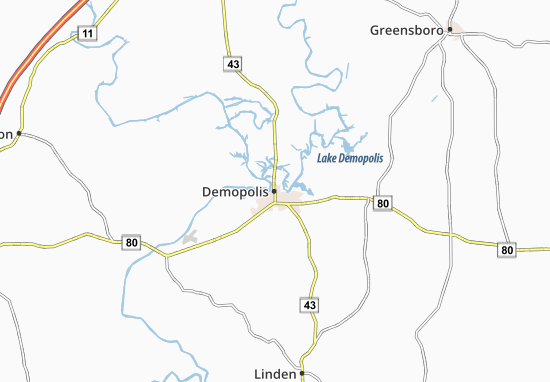 Demopolis Map