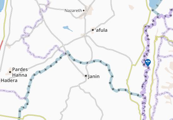 Magen Sha'Ul Map