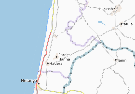 Regavim Map