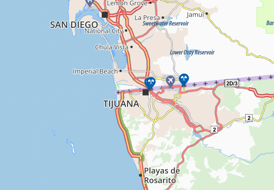 Mapa Plano Colonia 1