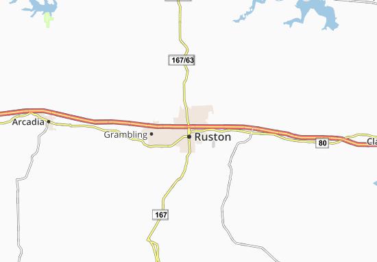 Ruston Map