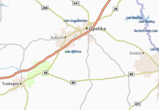 Mitchell Crossroads Map
