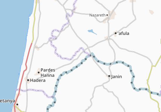 'Aqqada Map