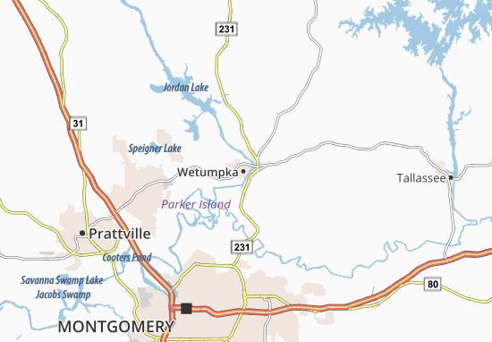 Wetumpka Map