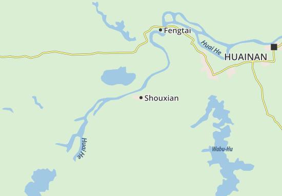 Shouxian Map