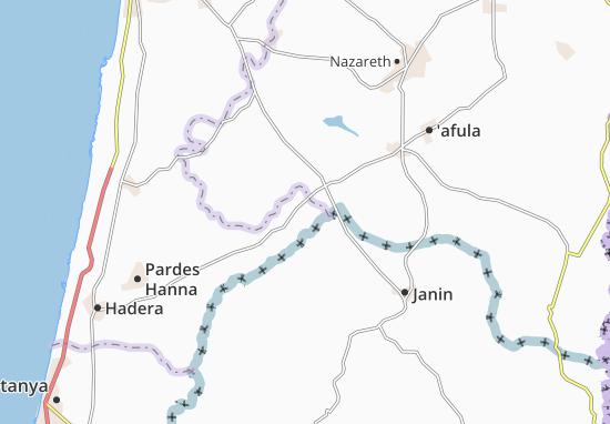 El Murtafi'A Map