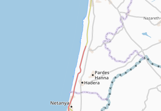 Mapas-Planos Ma'Agan Mikha'El