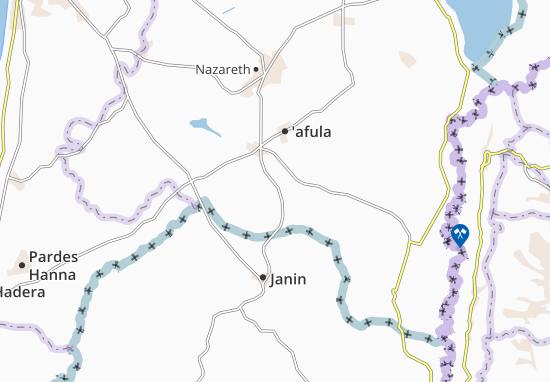 Mapas-Planos Yizre'El