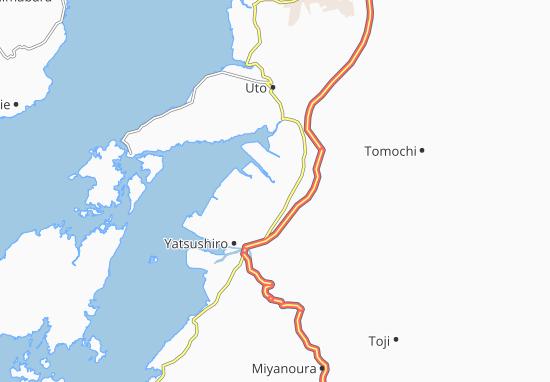 Kagamimachi Map