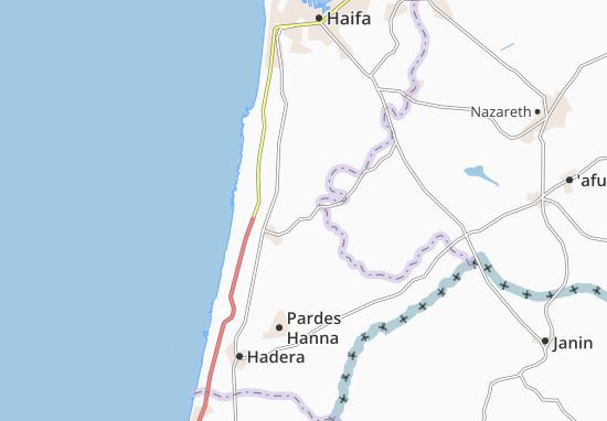 Mapas-Planos Bat Shelomo