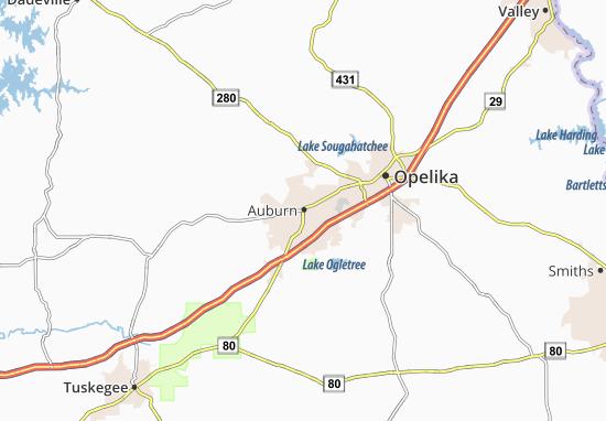 Auburn Map