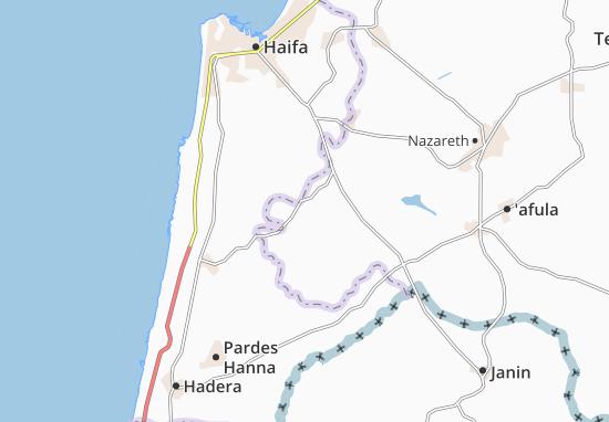 Mapas-Planos 'En Ha'Emeq