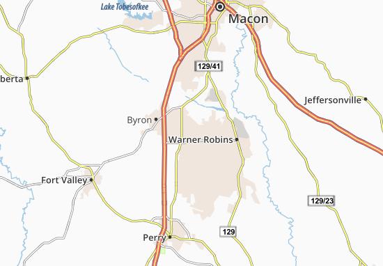 Kaart Plattegrond Centerville