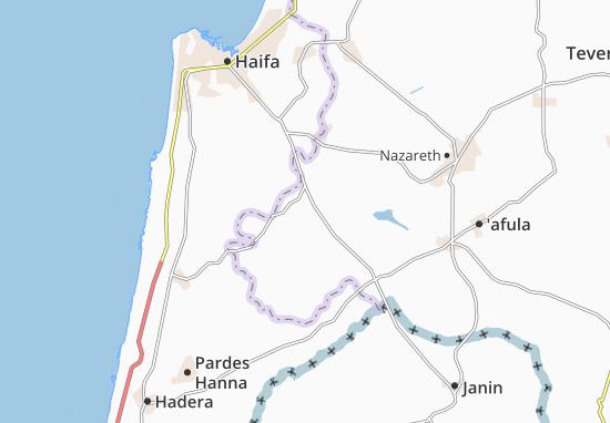 Mapas-Planos Hazorea'