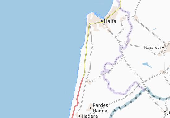 Mapas-Planos Geva' Karmel