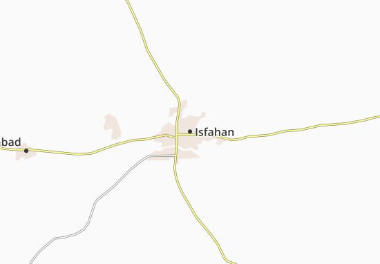 Isfahan Map: Detailed maps for the city of Isfahan - ViaMichelin