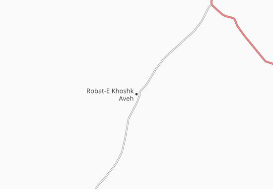 Robat-E Khoshk Aveh Map