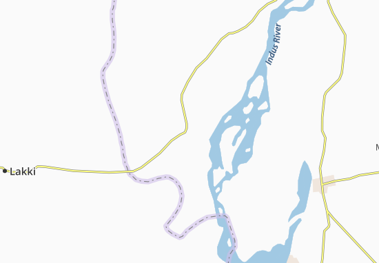 Isa Khel Map