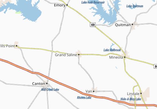 Mapas-Planos Grand Saline