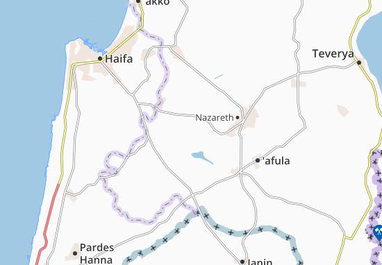 Ramat Dawid Map