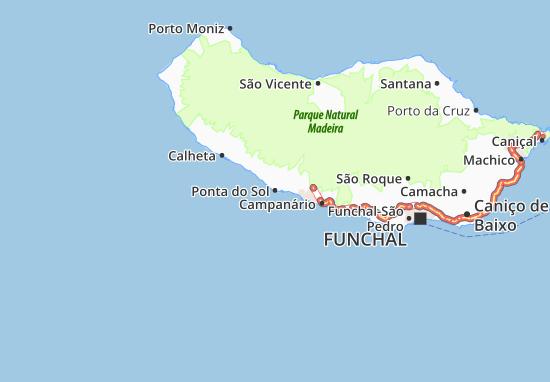 Mapa Plano Ponta do Sol