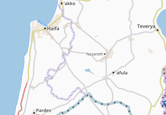 Mapas-Planos Nahalal