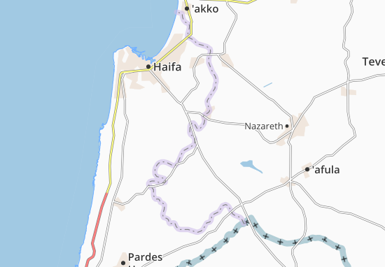 Qiryat Haroshet Map