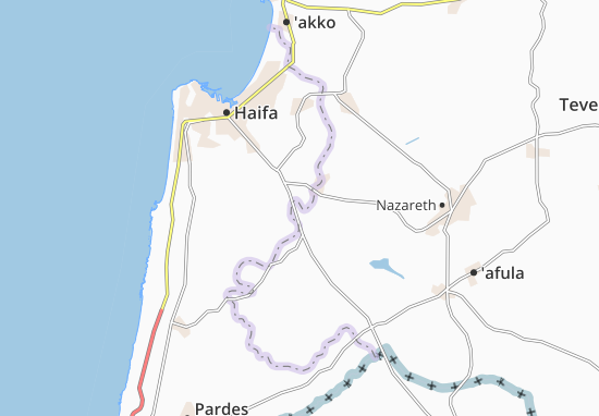 Kaart Plattegrond Bet Zayd
