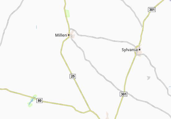 Scarboro Map