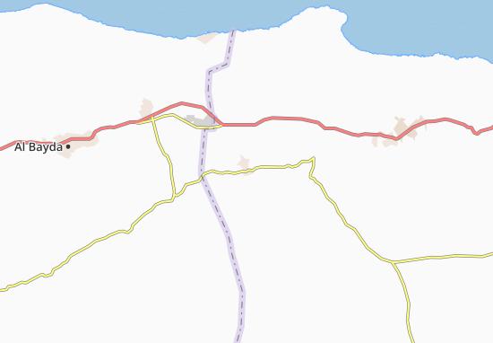 Carte-Plan Mintaqat al Qayqab