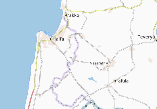 Kaart Plattegrond Basmat Tab'Un