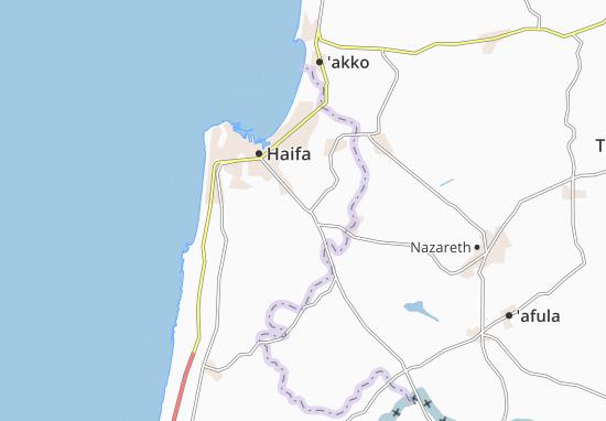 Yagur Map