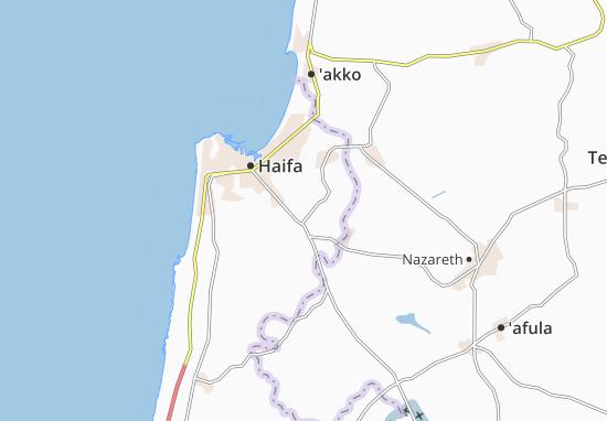 Kefar Hasidim Bet Map