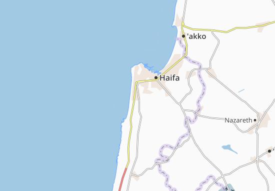 Mapas-Planos Tirat Karmel