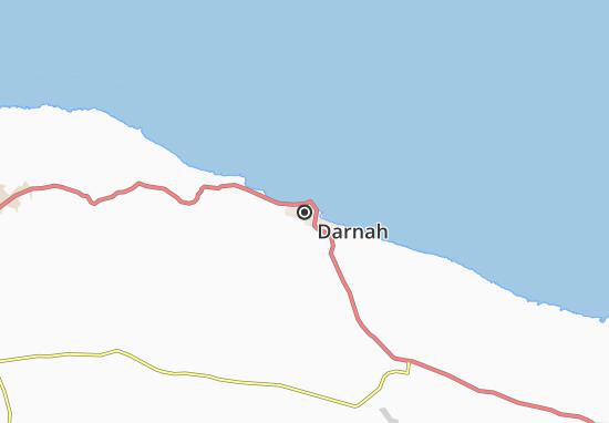 Darnah Map