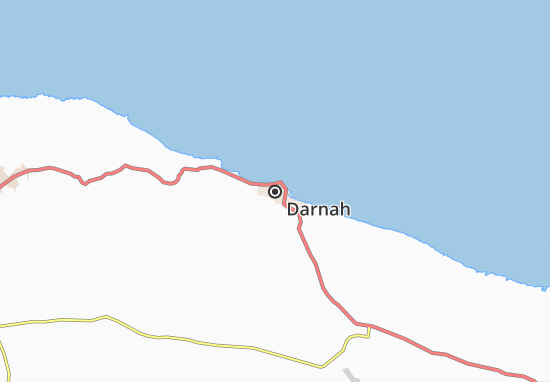 Mapa Plano Darnah