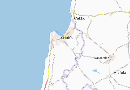 Nesher Map
