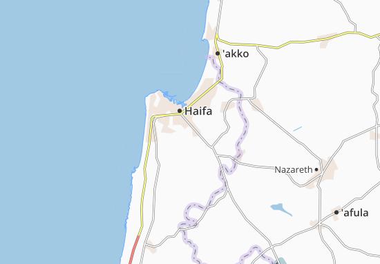 Kaart Plattegrond Nesher