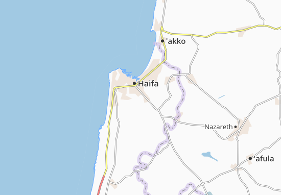 Kaart Plattegrond Tel Hanan