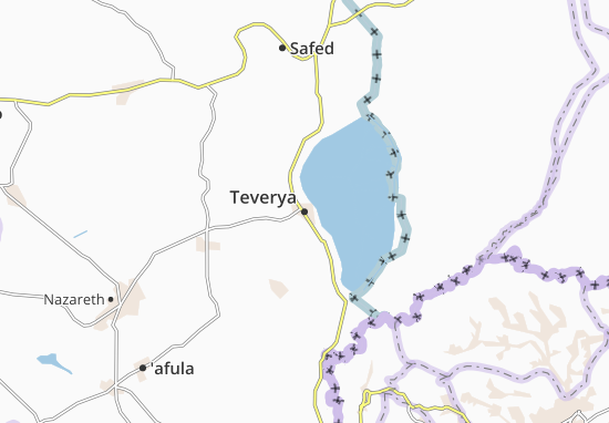Mappe-Piantine Teverya
