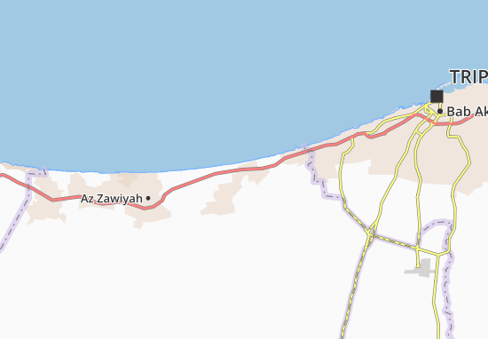 Carte-Plan Al Mayah