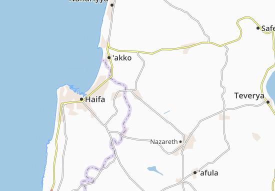 Shefaram Map