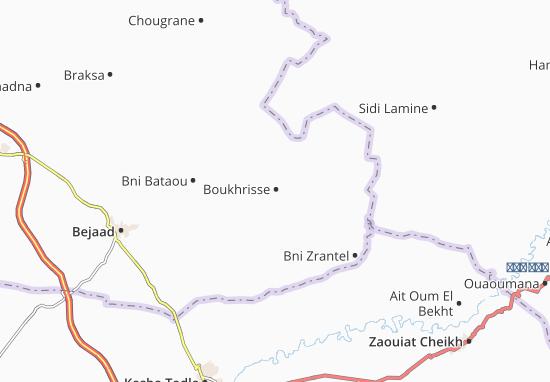 Carte-Plan Boukhrisse