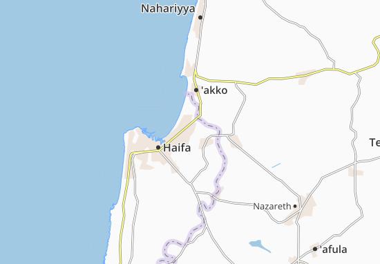 Mapas-Planos Qiryat Bialik