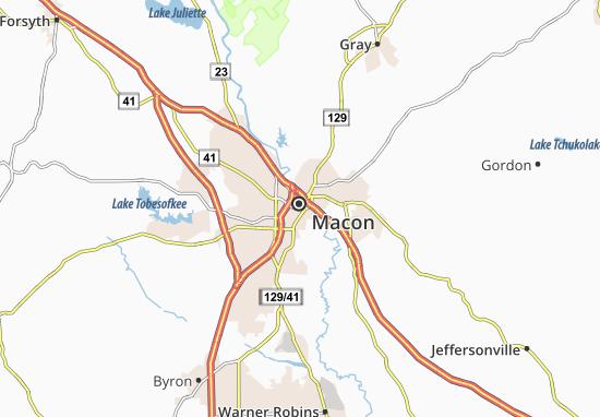 Carte-Plan Macon