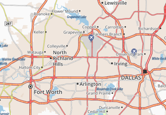 Euless Map