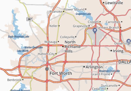 North Richland Hills Map