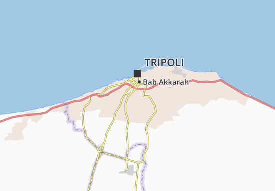 Carte-Plan Abu Salim