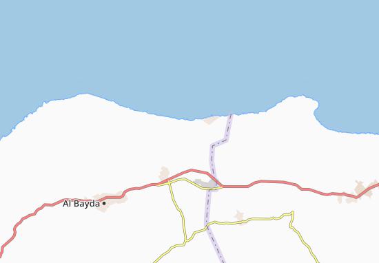 Carte-Plan Ras al Hilal